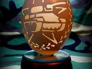 Осваиваем резьбу по гусиному яйцу. Ярмарка Мастеров - ручная работа, handmade.