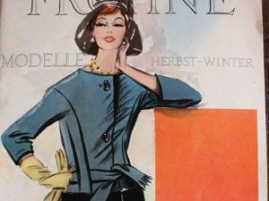 Frohne Modelle — старый  журнал мод -Осень-Зима 1961- Редкость. Ярмарка Мастеров - ручная работа, handmade.
