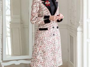 Аукцион на Элегантное твидовое платье! Старт 3000 р.!. Ярмарка Мастеров - ручная работа, handmade.