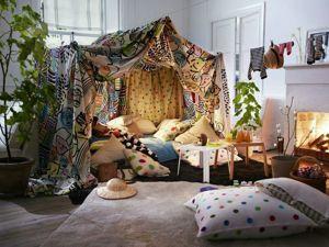 Домики из стульев и одеял. Ярмарка Мастеров - ручная работа, handmade.