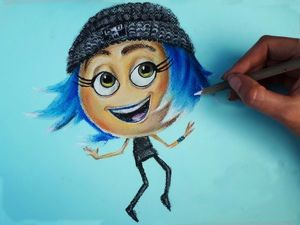 Видео мастер-класс: рисуем пастелью смайл из мультфильма «Эмоджи». Speed painting. Ярмарка Мастеров - ручная работа, handmade.