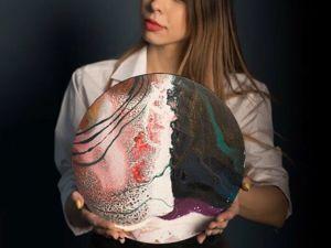 Картины  «Жидкий акрил». Ярмарка Мастеров - ручная работа, handmade.
