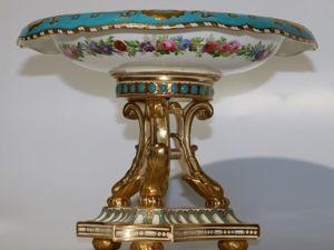 Подробнее о лоте: Ваза для фруктов,  «Copeland» , Англия, около 1860 года. Ярмарка Мастеров - ручная работа, handmade.
