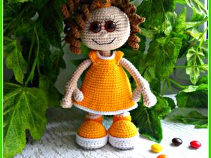 Вяжем игрушку  «Малышка Долли». Ярмарка Мастеров - ручная работа, handmade.