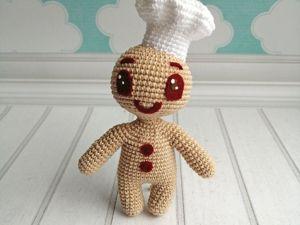 Описание вязания печеньки Пикабу. Ярмарка Мастеров - ручная работа, handmade.
