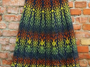 Вяжем спицами жаккардовую юбку. Ярмарка Мастеров - ручная работа, handmade.