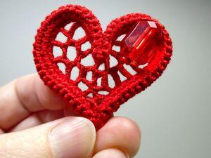 Сняла видео как сделать сердечко  «Валентинку». Ярмарка Мастеров - ручная работа, handmade.