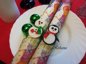 Делаем забавный декор на Новый год. Ярмарка Мастеров - ручная работа, handmade.