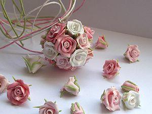 """Не бойтесь миниатюрности! Подвеска """"Розовый шар"""". Ярмарка Мастеров - ручная работа, handmade."""
