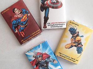 Подарок для супергероя: как сделать забавный сюрприз любимому. Ярмарка Мастеров - ручная работа, handmade.