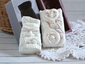 Силиконовые формы для мыла. Ярмарка Мастеров - ручная работа, handmade.