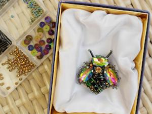 Создаем стильную брошь «Муха». Ярмарка Мастеров - ручная работа, handmade.