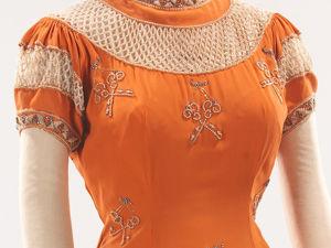 Вечернее платье с ключами от Elsa Schiaparelli 1939. Ярмарка Мастеров - ручная работа, handmade.