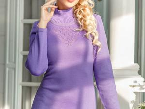 Аукцион на Элегантное вязаное платье! Старт 2500 руб.!. Ярмарка Мастеров - ручная работа, handmade.