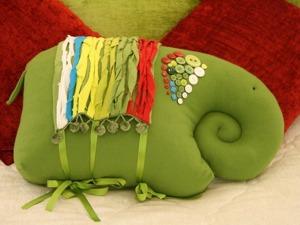 """Шьем интерьерную подушку """"Слон"""". Ярмарка Мастеров - ручная работа, handmade."""