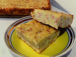 Картофельная запеканка с сосисками и сыром. Ярмарка Мастеров - ручная работа, handmade.