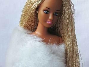 Меняем кукле барби волосы. Ярмарка Мастеров - ручная работа, handmade.