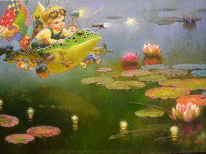 Тайны картин художника В. Понизовцева. Ярмарка Мастеров - ручная работа, handmade.