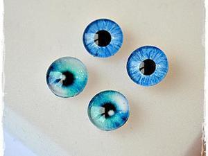 Стеклянные глазки для игрушек своими руками. Ярмарка Мастеров - ручная работа, handmade.