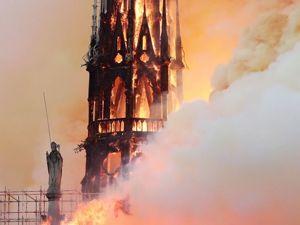 Плачу... Нотр-Дам де Пари сгорел. Ярмарка Мастеров - ручная работа, handmade.