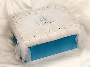 Красивая коробка для упаковки свадебного подарка или прочих нужностей. Ярмарка Мастеров - ручная работа, handmade.