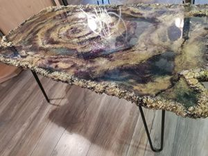 Журнальный столик  «На краю галактики». Ярмарка Мастеров - ручная работа, handmade.