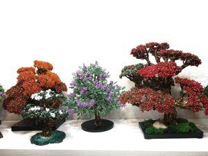 11% скидка на эксклюзивные деревья из бисера. Ярмарка Мастеров - ручная работа, handmade.