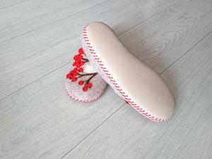 Кожаная подошва для тапок. Ярмарка Мастеров - ручная работа, handmade.