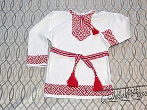 Шьем русскую народную рубаху. Ярмарка Мастеров - ручная работа, handmade.