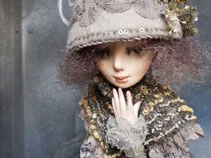 «Голубка»  авторская художественная кукла. Ярмарка Мастеров - ручная работа, handmade.