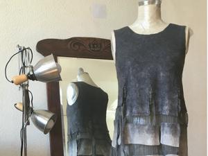 Валяное платье. Формируем горловину. Ярмарка Мастеров - ручная работа, handmade.