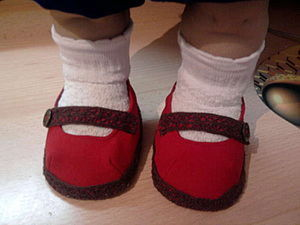 Обувь для куклы мастер-класс. Ярмарка Мастеров - ручная работа, handmade.