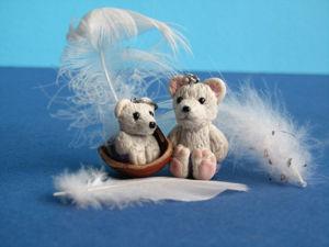 How to make a Cute Teddy Bear in Diaper. Livemaster - handmade