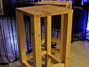 Высокие стулья для барной стойки. Ярмарка Мастеров - ручная работа, handmade.