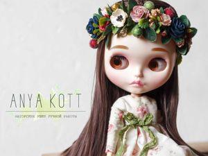 Веночки для кукол блайз (Blythe) или текстильных кукол. Ярмарка Мастеров - ручная работа, handmade.