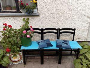 Делаем скамью из старых стульев. Ярмарка Мастеров - ручная работа, handmade.