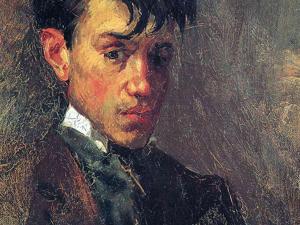 Автопортреты Пикассо в хронологическом порядке с 1896 по 1972 годы. Ярмарка Мастеров - ручная работа, handmade.