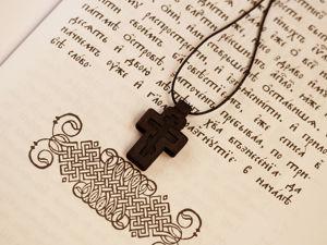 Повтор крестика  «Откровение». Ярмарка Мастеров - ручная работа, handmade.