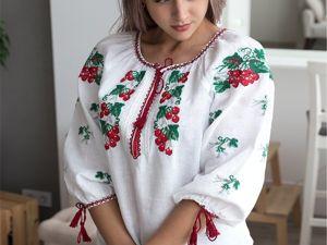 Славянская одежда. Ее колорит, этничность и современность. Ярмарка Мастеров - ручная работа, handmade.