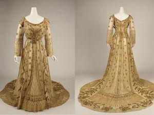 Бальное платье, Jacques Doucet, 1907 г. Ярмарка Мастеров - ручная работа, handmade.