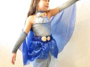 Шьем своими руками детский новогодний костюм «Русалочка». Ярмарка Мастеров - ручная работа, handmade.