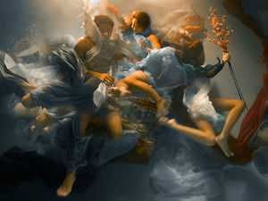 Unique Underwater Baroque Photos by Lee Rogers Christy. Livemaster - handmade
