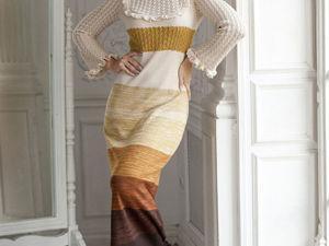 Аукцион на Очаровательное вязаное платье! Старт 3000 р.!. Ярмарка Мастеров - ручная работа, handmade.