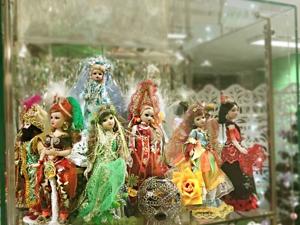 Мои куклы на выставке в Чебоксарской библиотеке им. Маяковского. Ярмарка Мастеров - ручная работа, handmade.