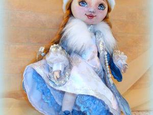 Кукла Снегурочка. Ярмарка Мастеров - ручная работа, handmade.
