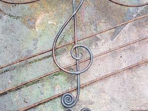 Пюпитр ручной ковки — подарок музыканту. Ярмарка Мастеров - ручная работа, handmade.