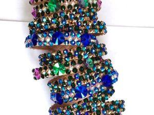 Видеоурок: расклейка браслетов стразами. Ярмарка Мастеров - ручная работа, handmade.