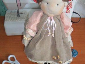 Кукла в вальдорфском стиле. Ярмарка Мастеров - ручная работа, handmade.