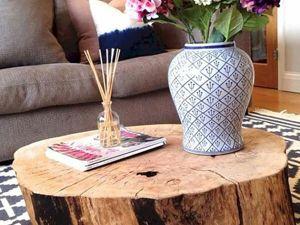 5 способов использовать деревянный пень, а не пускать его на дрова. Ярмарка Мастеров - ручная работа, handmade.