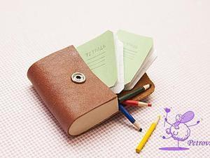 Кожаный школьный портфель — легко и просто. Ярмарка Мастеров - ручная работа, handmade.